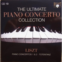 Liszt: Piano Concerto no. 1 & 2. + Totentanz. Nelson Freire. Michel Plasson. 1 CD. Brilliant Classics