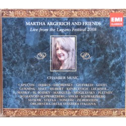 Martha Argerich & Friends: Live from the Lugano Festival 2008. 3 CD. EMI
