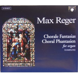 Max Reger: Chorale Fantasia for Organ, Opus. 27. Wouter van den Broek. 2 cd. Brilliant Classics