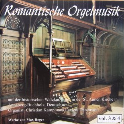 Reger: Romantic organ music. Christian Kampmann Larsen. 2 CD. Paula.