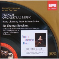 French orchestral music. Thomas Beecham. 1 CD. EMI. GRC
