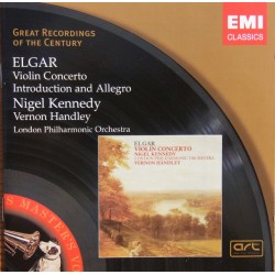Elgar: Violin Concerto, Nigel Kennedy, Vernon Handley. 1 CD EMI
