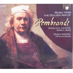 Music from the golden age of Rembrandt. Sweelinck, van Eyck, Verrut, Buns. Musica Amphion. 2 CD. Brilliant Classics