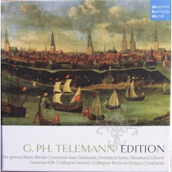 Telemann Edition. Der getreue Music-Meister, The Times of the Day, 12 Fantasias for solo flute, 10 CD. DHM