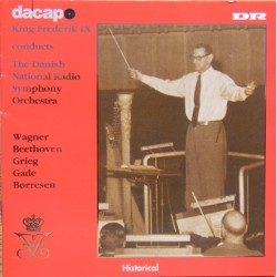 King Frederik IX conducts Danish Radio SO. 2 CD. Dacapo