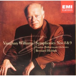 Vaughan Williams: Symfoni nr. 8 & 9. Bernard Haitink, London Philharmonic Orchestra. 1 CD. EMI