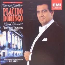 Placido Domingo: Gala Concert, live at Covent Garden. 1 CD. EMI