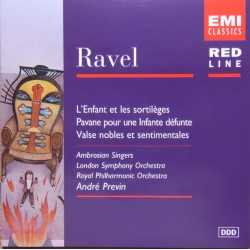 Ravel: Orchestral works. André Previn. London SO. 1 CD. EMI. Red Line