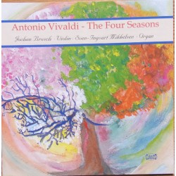 Vivaldi: The four Season for violin og orgel. 1 CD. Classico