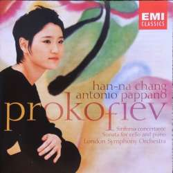 Prokofiev: Sinfonia Concertante op. 125 Han-Na Chang, LSO, Antonio Pappano. 1 CD. EMI