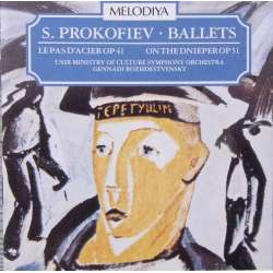 Prokofiev: Le Pas Dácier. & On the Dnieper. USSR SO Rozhdestvensky. 1 CD. Melodiya, MCD 103