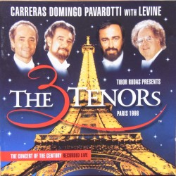 Carreras, Domingo, Pavarotti with Levine. Paris 1998. 1 CD. Decca