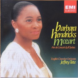 Mozart: Concert Arias. Barbara Hendricks, Jeffrey Tate, ECO. 1 CD. EMI