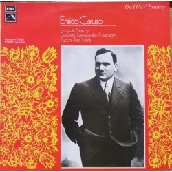 Enrico Caruso. Songs and Arias by Donizetti, Leoncavallo, Mascagni, Puccini, Tosti, Verdi. 1 LP. EMI