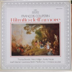 Couperin: Ritratto dell amore. Brandis, Holliger, Nicolet, Ulsamer, Strehl, Sax, Jacottet. 1 LP. Archiv
