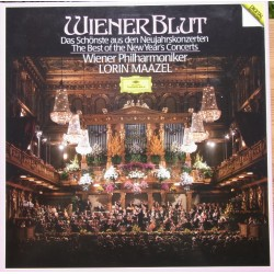 Wiener Blut. The Best of the New Years Concert. Lorin Maazel, Wiener Philharmoniker. 3 LP. DG