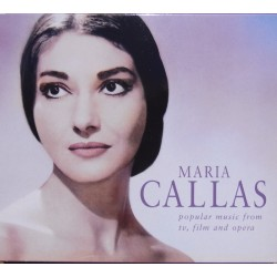 Maria Callas: Popular music from tv, film and opera. 1 CD. EMI
