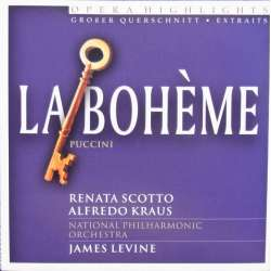Puccini: La Boheme in highlights. Scotto, Kraus. James Levine. 1 CD.