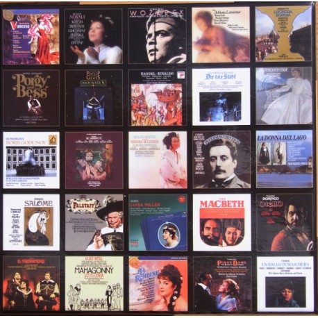 The Classical opera collection. Diapason collection. 25 Great opera from Sony & RCA. 56 CD.