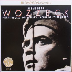 Berg, Alban. Wozzeck. Pierre Boulez, Berry, Uhl, 2 CD. Sony