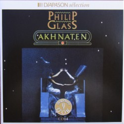 Philip Glass. Akhnaten. Eswood, Vargas, Liebermann. Davies. 2 CD. Sony