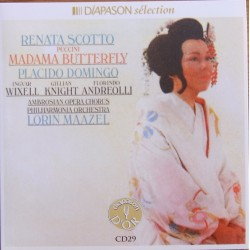 Puccini: Madama Butterfly. Scotto, Domingo. Lorin Maazel. 2 CD. Sony