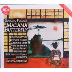 Puccini: Madama Butterfly. Price, Elias, Tucker, Erich Leinsdorf. 2 CD. RCA