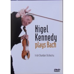 Nigel Kennedy plays Bach. Irish Chamber Orchestra. 1 DVD. EMI