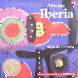 Albeniz - Iberia - 12 impressions for piano - Alicia de Larrocha, piano. 1 CD. Sony