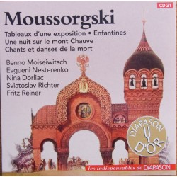 Mussorgsky: Pictures of an Exhibition. + Songs. Nina Dorliac, Sviatoslav Richter, Fritz Reiner. 1 CD. Sony