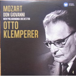 Mozart: Don Giovanni. Otto Klemperer. Ghiaurov, Ludwig, Freni, Gedda. 3 CD. Warner.