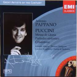 Puccini: Messa di Gloria + Sinfonia. Alagna, Hampson, Pappano. 1 CD. EMI Great Artists of the Century.
