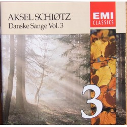 Danish songs with Aksel Schiøtz. Vol. 3. 1 CD. EM