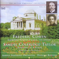 Cowen: Symphony no. 6. & Coleridge-Taylor: Symphony in A-minor. 1 CD. Classico