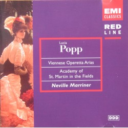 Viennese operetta arias. Lucia Popp, Neville Marriner, Academy of St. Martin in the Fields. 1 CD. EMI.