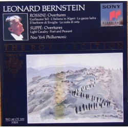 Rossini & Suppe: Overtures. Leonard Bernstein, New York Philharmonic. 1 CD. Sony