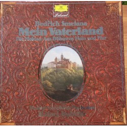 Smetana: Ma Vlast. Rafael Kubelik, Boston SO. 2 LP. DG