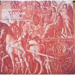 Handel: Julius Caesar. Beverly Sills, Maureen Forrester, Norman Tringle. Julius Rudel. 3 LP. RCA