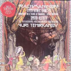 Rachmaninov: Symphonic dances & Aleko overture. St. Peterborg SO. Temirkaninov. 1 CD. RCA
