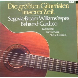 The Greatest guitarist in our time. Segovia, Bream. Williams. Yepes. 2 LP. RCA