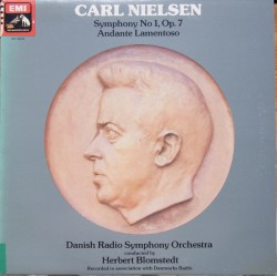 Nielsen: Symphony no. 1. + Andanate Lamentoso. Herbert Blomstedt. Danmarks Radio SO. 1 LP. EMI