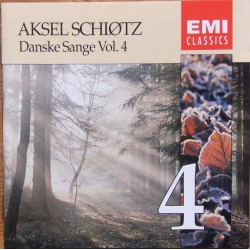 Danish songs with Aksel Schiøtz vol..4. 1 CD. EMI