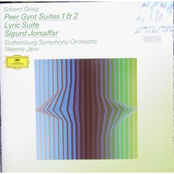 Grieg: Peer Gynt suites 1 & 2. + Lyric Suite. Sigurd Jorsalfar. Neeme Järvi, Gothenburg SO. 1 CD. DG