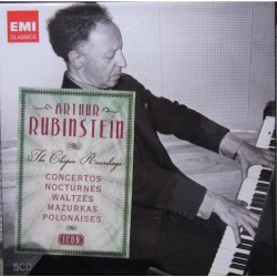Arthur Rubinstein. The Chopin Recordings. Arthur Rubinstein. 5 CD. EMI Classics