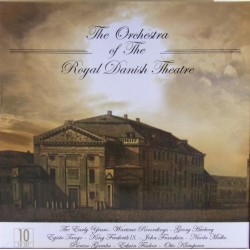 The Royal Danish Chapel plays Nielsen, Gade, Lumbye, Riisager. 10 CD.