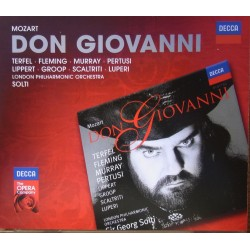 Mozart: Don Giovanni. Georg Solti, Terfel, Fleming, Murray, Lippert. London PO. 3 CD. Decca