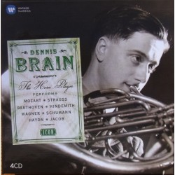Dennis Brain. Horn Concertos. 4 CD. Warner