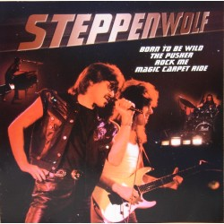 Steppenwolf: Born to Wild, The Pusher, Rock me, Magic Carpet Ride, mfl. 1 CD. EMI