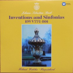Bach: Inventions and Sinfonias. BWV 772-801. Helmut Walcha. 1 CD. Warner
