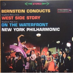 Bernstein: West Side Story. & On the Waterfront. Leonard Bernstein, New York Philharmonic. 1 CD. Sony